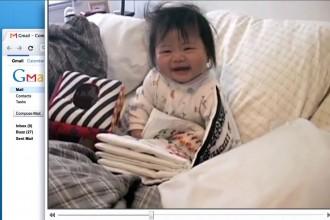 cooler Werbeclip von Gmail -Ein Vater dokumentiert das Leben seines Kindes!