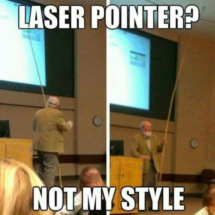 Laserpointer?